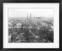 Framed Richmond, Va. black and white