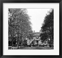 Framed Richmond, Va. The Governor's Mansion