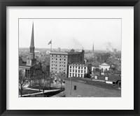 Framed Richmond, Va. photograph
