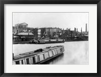 Framed Richmond, Va. 1865. Burnt district