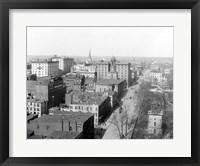 Framed Richmond, Va. Top view