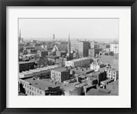 Framed Richmond, Va. black & white photo