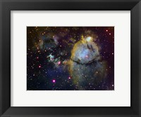 Framed NGC 896 (part of the Heart nebula) in Cassiopeia