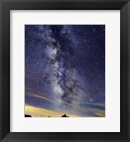 Framed Milky Way in Serra da Estrela, Portugal
