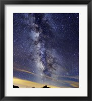 Framed Milky Way in Serra da Estrela, Portugal
