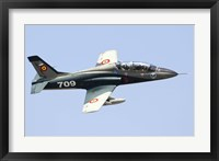 Framed Romanian Air IForce AR-99 Soim jet trainer