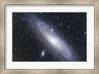 Framed Andromeda Galaxy