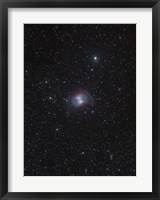 Framed Dumbbell Nebula