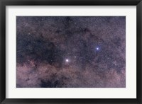 Framed Alpha and Beta Centauri in the southern constellation of Centaurus