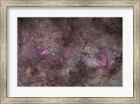 Framed False Comet area in Scorpius along with NGC 6188 nebulosity in Ara