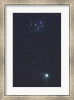 Framed January 6, 2005 - Comet Machholz
