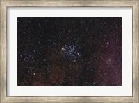 Framed Messier 6, the Butterfly Cluster
