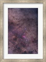 Framed NGC 6231 area oriented equatorially