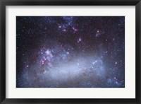 Framed Tarantula Nebula in the Large Magellanic Cloud