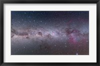 Framed Mosaic of the southern Milky Way from Vela to Centaurus