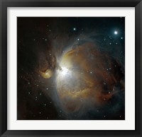 Framed M42 nebula in Orion