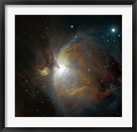 Framed M42 nebula in Orion