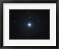Framed Rigel is the brightest star in the constellation Orion