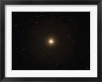 Framed red supergiant Betelgeuse