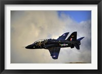 Framed Hawk T1 trainer aircraft of the Royal Air Force