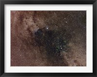 Framed Widefield view of star flux in Cygnus