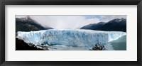 Framed Perito Moreno Glacier in Los Glaciares National Park, Argentina