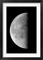 Framed Last quarter waning moon