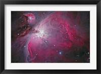 Framed Messier 42, The Orion Nebula