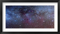 Framed constellations of Puppis and Vela in the southern Milky Way