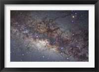 Framed center of the Milky Way through Sagittarius and Scorpius