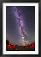 Framed northern summer Milky Way over the Saskatchewan Summer Star Party