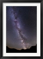 Framed summer Milky Way in southern Alberta, Canada