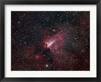 Framed Omega Nebula