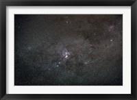 Framed wide field view centered on the Eta Carina Nebula