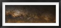 Framed panorama of the Milky Way