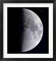 Framed Quarter Moon