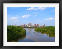Framed Skyline of Richmond, VA