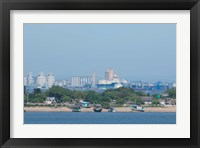 Framed Africa, Mozambique, Maputo, port area boats