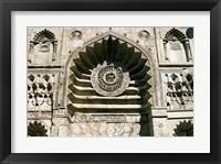 Framed Al-Aqmar Mosque, Khan El Khalili, Cairo, Egypt