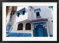 Framed Chefchaouen, Tangeri-Tetouan, Rif Mountains, Morocco