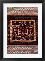 Framed Africa, Tanzania, Zanzibar, Stone Town. Close-up of hand-made carpet.