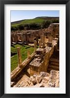Framed Ancient Architecture, Roman Brothels, Dougga, Tunisia