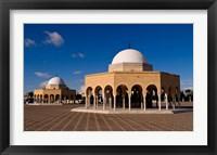 Framed Bourguiba Mausoleum, Tunisia