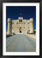 Framed Fort Qu'it Bey, Alexandria, Mediterranean Sea, Egypt
