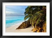 Framed Ansi Victorin Beach, Seychelles
