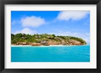 Framed Fregate Island Resort, Seychelles, Africa