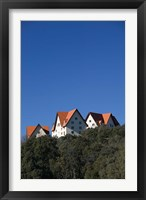 Framed Al-Akhawayn University Buildings, Alpine Resort, Ifrane, Middle Atlas, Morocco