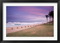 Framed Beaches at Ansteys Beach, Durban, South Africa