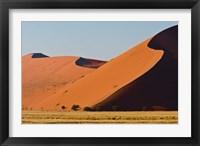 Framed Desert, Sossusvlei, Namib-Nauklift NP, Namibia