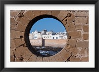 Framed Fortified Architecture of Essaouira, Morocco
